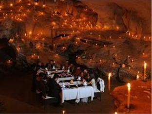 Lunch in a cave