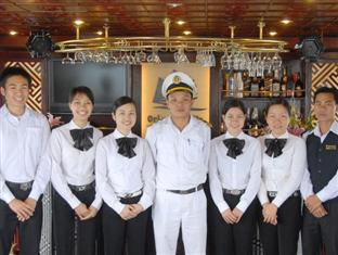 Crew on boat